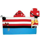 Stephen Joseph Kids' Pirate Hooded Towel