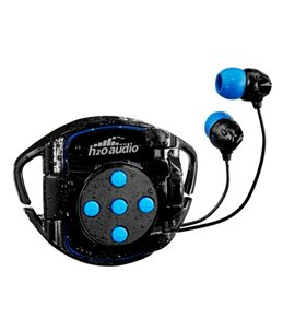 H2O Audio Interval 4G Waterproof Case and Headphones for the iPod shuffle (4th Gen) w/ Surge