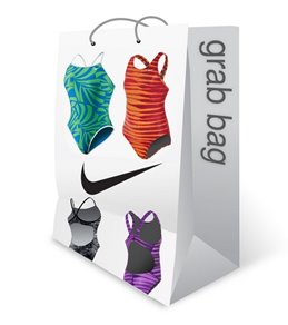 Nike Women's Nylon Spandex Swimsuit Grab Bag Assorted Colors