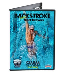 Swim Like a Champion - Backstroke DVD with Matt Grevers by the Fitter & Faster Swim Tour