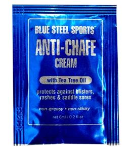 Blue Steel Sports Anti-Chafe Cream (6-Pack Singles)