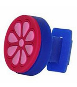 Sports Studs Pink Flower Goggle Accessory