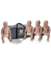Prestan Professional Infant CPR-AED Training Manikins 4 Pack & Kit