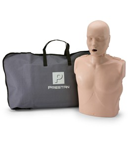 Prestan Professional Adult CPR-AED Training Manikin & Kit