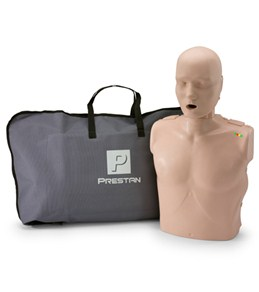 Prestan Professional Adult CPR-AED Training Manikin  w/ CPR Monitor & Kit