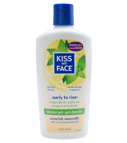 Kiss My Face Early to Rise Shower & Bath Gel