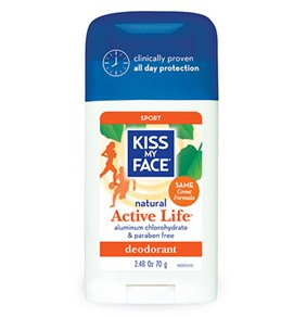 Kiss My Face Active Life Stick Sport Deodorant