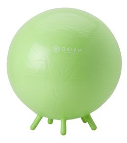Gaiam Kids Stay-N-Play Stability Ball Lime