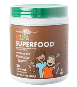 Amazing Grass Kidz Superfood Organic Nutritional Mix (30 Serving Canister)