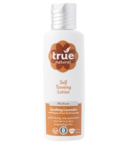 True Natural All Natural Self Tanning Lotion (Medium Tan, 4 oz)