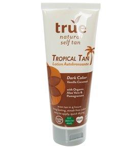 True Natural All Natural Tropical Self Tanning Lotion (Dark Tan, 4 oz)