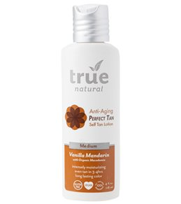 True Natural Perfect Tan Body with Anti-Aging Benefits (Medium Tan, 4 oz)