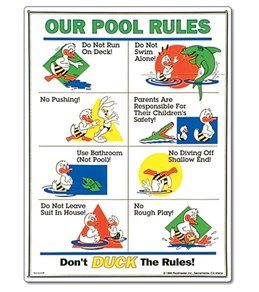 Poolmaster Sign-Duck Animation