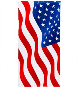 Wet Products American Flag Stars & Stripes Beach Towel