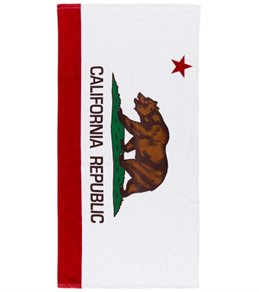 Wet Products California Flag Beach Towel