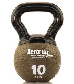 AeroMat Elite Mini Kettlebell Medicine Ball, 10 lb