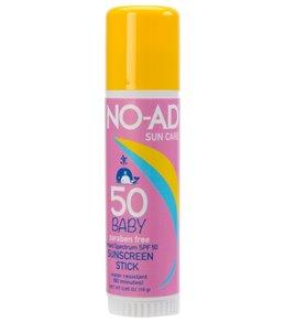 NO-AD Baby SPF 50 Sunscreen Stick 0.65 oz
