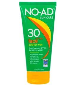 NO-AD Face SPF 30 Sunscreen 6oz