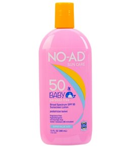 NO-AD Baby SPF 50 Sunscreen Lotion 13 oz
