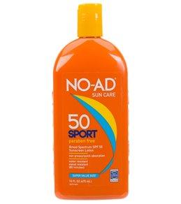NO-AD Sport SPF 50 Sunscreen Lotion 16oz