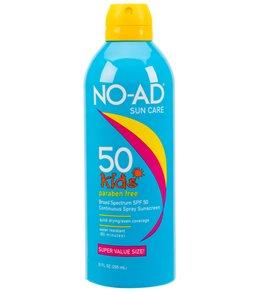 NO-AD Kids SPF 50 Continuous Spray Sunscreen 10oz