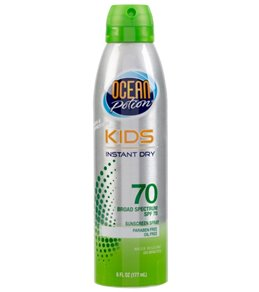 Ocean Potion Kids SPF 70 Continuous Spray Sunscreen 6oz