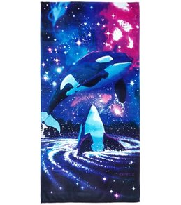 Kaufman Sales Galaxy Of Orcas 30 x 60 Beach Towel
