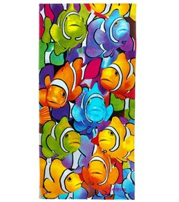 Kaufman Sales Clown Fish 30 x 60 Beach Towel
