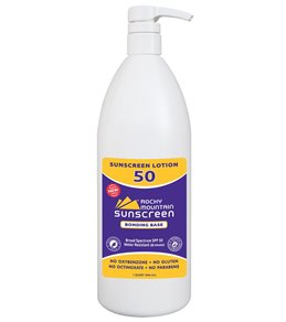 Rocky Mountain Sunscreen SPF 50 Oxybenzone Free Broad Spectrum Sunscreen 32 oz.