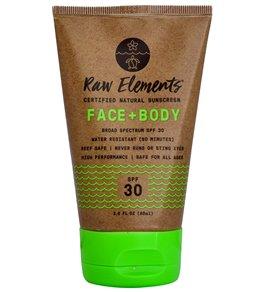 Raw Elements Eco Formula SPF 30+ Sunscreen Lotion