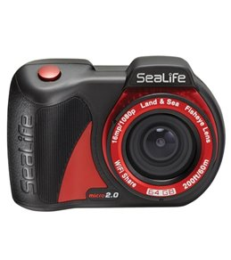 Sealife Cameras Micro 2.0 Underwater Digital Camera with WiFi and 64GB Built in Memory