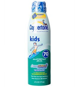 Coppertone Kids Clear Continuous Spray SPF 70, 6 oz