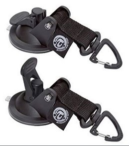AIRHEAD SUP 2 pk. Suction Cup Tie Downs