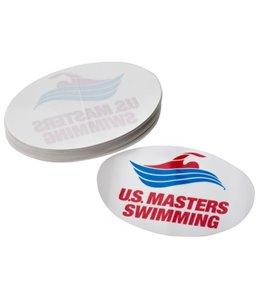 USMS White/Red/Blue Interior Static Cling Sticker (Box of 50)