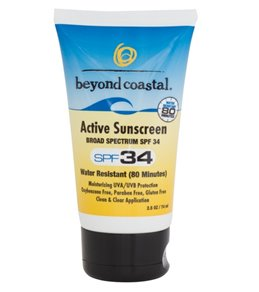Beyond Coastal Active Sunscreen SPF 34, 2.5oz