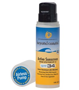 Beyond Coastal Active  Sunscreen SPF 34, 8oz