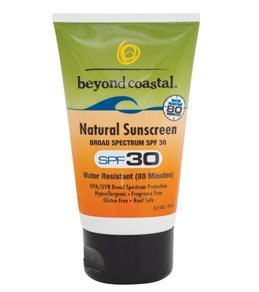 Beyond Coastal Natural Sunscreen SPF 30, 2.5oz