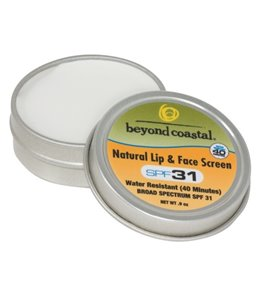 Beyond Coastal Natural Lip & Face Screen SPF 31, 1oz