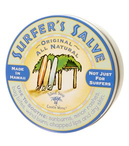 Island Soap and Candle Works Surfer Salve Large Tin 4oz