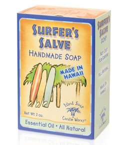 Island Soap and Candle Works Surfer Salve Soap 3oz