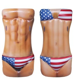 Jet Creations Man/Woman USA Hot Body 72'' Float