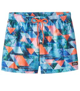 Funky Trunks Men's Split Scene Swim Trunk