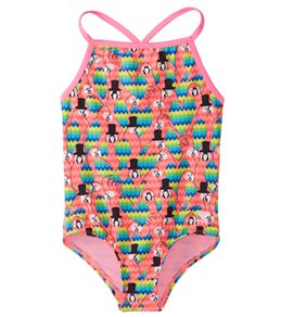TYR Girls' Lovebird Diamondfit One Piece Swimsuit (Little Kid, Big Kid)