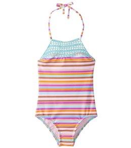 Raisins Girls' Laguna Stripes Blossom Tank (Little Kid)
