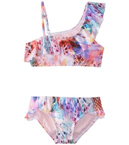 0c2b58919b Raisins Girls' Crystal Cove Half Moon Two Piece Bikini Set (Big ...