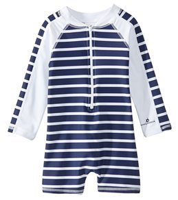 Snapper Rock Boys'  Short Sleeve Sunsuit (Baby)