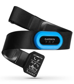 Garmin HRM-Tri  Premium HRM w/Running Dynamics & Swim HR (open water) Black/Blue