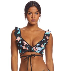 Coco Rave Miami Spice Brooke Wrap Bikini Top (B/C/D Cup)