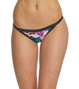 Hurley Women's Quick Dry Garden Cheeky Bikini Bottom