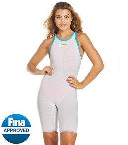 83d1188b48 Arena Women's Powerskin Carbon Air2 Full Body Open Back Tech Suit Swimsuit  ...
